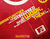 Swatch-Mtv´s before the division of the world...