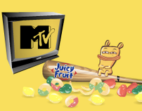 MTV + Juicy Fruit = Radio