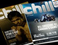 Chill Magazine redesign