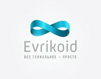 Логотип и заглушка для Evrikoid.ru