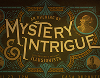 An Evening of Mystery & Intrigue