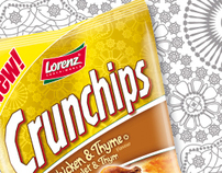 Package Illustration | Crunchips - Lorenz