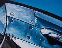 P-51 Mustang. Reno, Nevada.