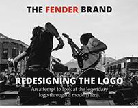 Fender Logo Redesign