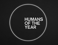 HUMANS OF THE YEAR