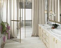 Simple Classic Master Bathroom