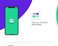iOS Presentation for CoWo (Co-Working App)