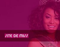 Site de Miss, acesse. www.sitedemiss.com.br