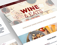 Off the Vine Responsive Website