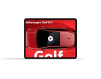 2022 Volkswagen Golf GTI - Premier Motion Graphics