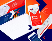 AXA OIL | Branding & Webdesign