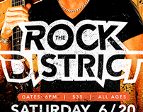 Rock the District 2015 Poster