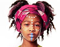 Tribal Childrens Fashion Editorial