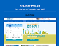 Sears Travel Full Site Redesign