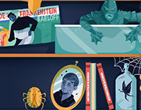 Guillermo del Toro's Infographic for Vue cinemas