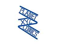 [Process] Planet XYZ Comics Logo Design