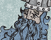Breckenridge's Ullr Fest • Poster Illustration & Design