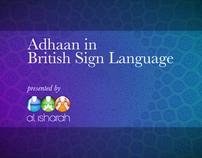 Adhaan in British Sign Language