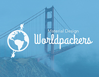 Case Study: Worldpackers Material Design