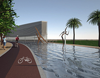 1st place River Front Park, Olhão Competition. Portugal