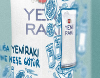 Package Design for YENI RAKI