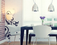 Dining Room Interior design and 3D Visualization