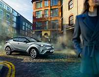 TOYOTA CHR SHOOTING