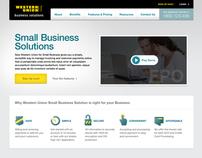 Western Union design explorations