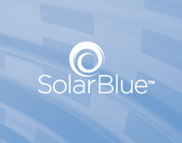 SolarBlue Stationery and Branding