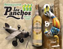 """MENU """"Los Panchos"""" Tequila Tradicional"""