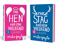 Mike Gayle's - Hen & Stag Book Covers