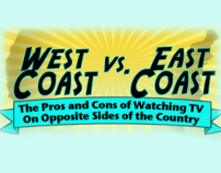 West Coast vs. East Coast: Pros and Cons of TV