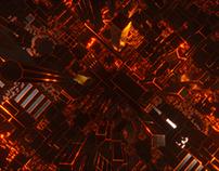 Virtual Production logo animation