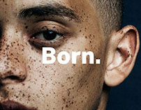 Born. (D&AD New Blood 2016, Design Bridge)