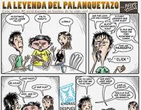 CÓMIC | La leyenda del Palanquetazo