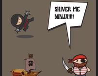 Shiver me Ninja