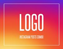 LOGO | Instagram Posts Combo