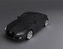 Audi TT 2008 | 3D Modeling