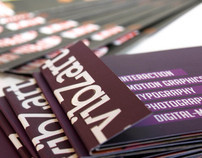 Self-Promotion Material - Business Cards and Brochure