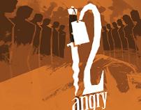 """""""A fi sau a nu fi"""" theatre play poster"""