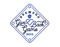 Give Back Game Logo Concept