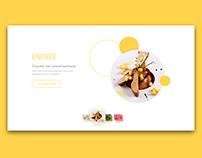 Daily UI #043 — Food Drink Menu