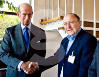 Queen's Award with Duke of Kent and Zed Tunnel Systems