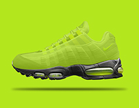 Nike Air Max 95 / Re-Envisioned