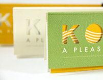 Kooch It, paper sample design