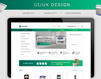 ALLSTROY/Online store/Web desing