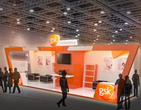 GlaxoSmithKline Booth Design