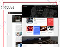 TouTiao Lab-website