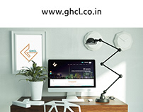 GHCL (Gujrat Heavy Chemicals Limited) Web UI/UX Design