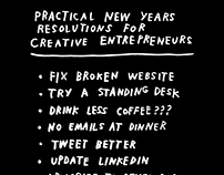 lists for creative entrepreneurs